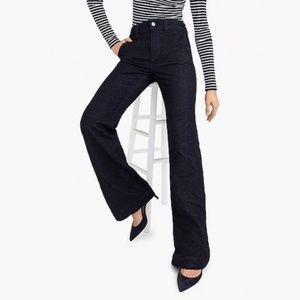 J. Crew High-Heel Flare Dark Wash Jeans Size 26